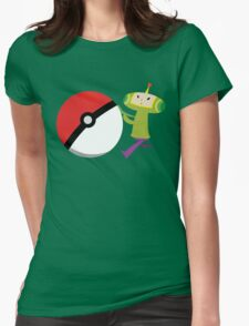 Prince and a Pokéball Womens Fitted T-Shirt