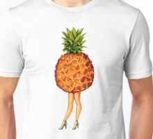 Fruit Stand - Pineapple Girl Unisex T-Shirt