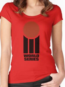 Retro Cricket Women's Fitted Scoop T-Shirt