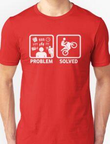 Problem Solved Motorbike T Shirt T-Shirt