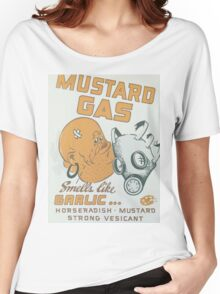 Vintage poster - Mustard Gas Women's Relaxed Fit T-Shirt