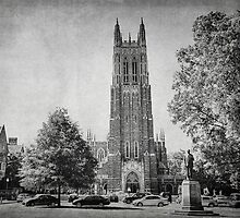 Duke Chapel, Durham NC by Kadwell