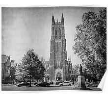 Duke Chapel, Durham NC Poster