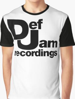 Dj def jam Graphic T-Shirt
