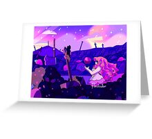 Strawberry Battlefield Greeting Card