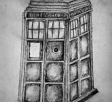 The TARDIS  by gemmaeva