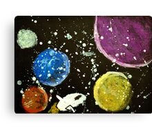 Space Voyage Canvas Print