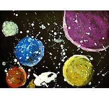 Space Voyage Photographic Print
