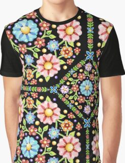 Millefiori Floral Graphic T-Shirt