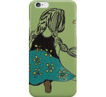 talking with flowers iPhone Case/Skin