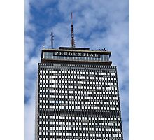 The Prudential Tower in Boston Photographic Print