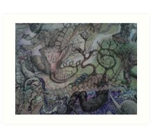 Fantasy Land Art Print