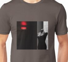 red and black, some gray... Unisex T-Shirt
