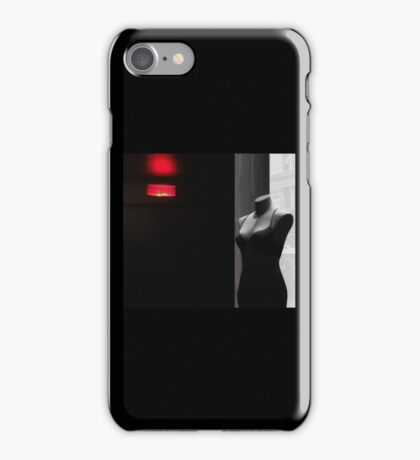 red and black, some gray... iPhone Case/Skin