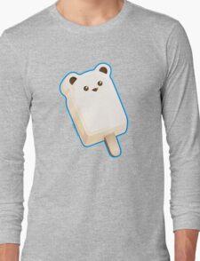 Cute Polar Bar Ice Cream Long Sleeve T-Shirt