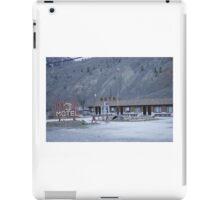 Thompson River Spences Bridge Motel iPad Case/Skin