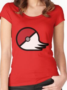 Graffiti in Pallet Town Women's Fitted Scoop T-Shirt