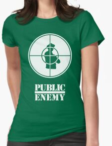 PUBLIC ENEMY Womens Fitted T-Shirt