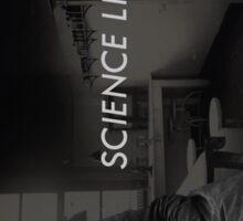 Science like a girl. Sticker