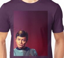 Bones McCoy in Pink Unisex T-Shirt