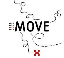 Move Photographic Print