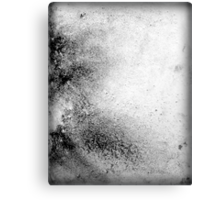 Black and White Contemporary Abstract Painting SIMPLE ELEGANCE Canvas Print