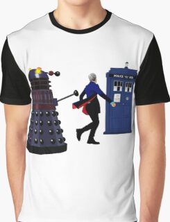 12th Doctor and Dalek Graphic T-Shirt