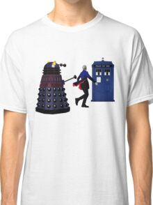 12th Doctor and Dalek Classic T-Shirt