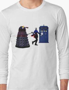 12th Doctor and Dalek Long Sleeve T-Shirt