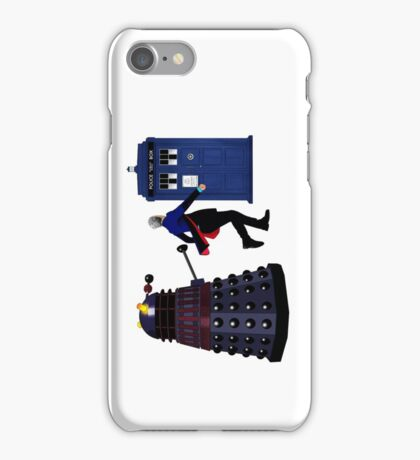 12th Doctor and Dalek iPhone Case/Skin