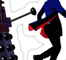 12th Doctor and Dalek Sticker