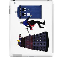 12th Doctor and Dalek iPad Case/Skin