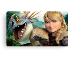 How To Train Your Dragon 06 Canvas Print