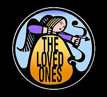 The Loved Ones original drumskin design 1965 - on a bag by Kim  Lynch