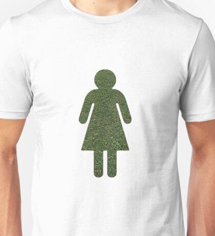 Go Green! Grass Girl Unisex T-Shirt