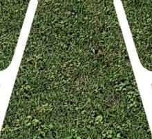 Go Green! Grass Girl Sticker