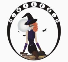 Witch - Vector Kids Tee