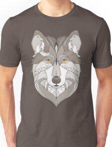 wolf, zentangle Unisex T-Shirt