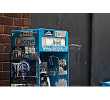 PayPhone Message Board Photographic Print
