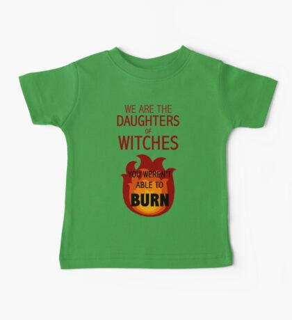 The Daughters of Witches Baby Tee