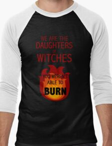 The Daughters of Witches Men's Baseball ¾ T-Shirt