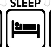 Eat, Sleep, Snag Sticker