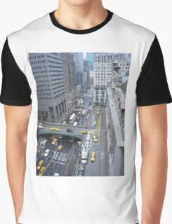 """Above It All""  Grand Central Station Graphic T-Shirt"
