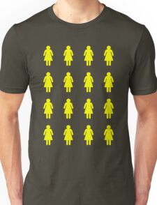 Bee's Knees Honeycomb Girls (Greeting Card, Shirt, Pillow, Tote) Unisex T-Shirt