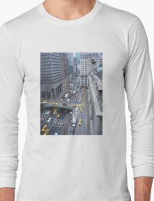 """Above It All""  Grand Central Station Long Sleeve T-Shirt"