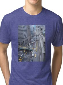 """""""Above It All""""  Grand Central Station Tri-blend T-Shirt"""