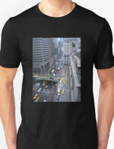 """Above It All""  Grand Central Station Unisex T-Shirt"
