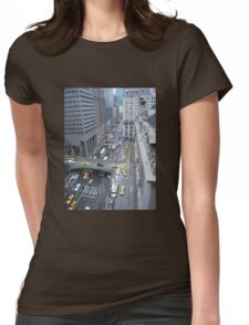 """""""Above It All""""  Grand Central Station Womens Fitted T-Shirt"""