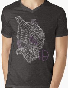 CowThree Mens V-Neck T-Shirt