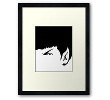 It's Spock! Framed Print